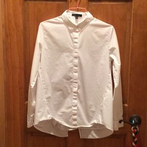Fun Banana Republic white button down size S